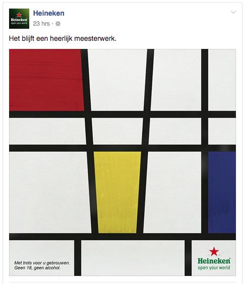 Voorbeeld blog content tips humor Heineken