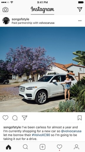 Instagram samenwerking sponsoring Instagrammers